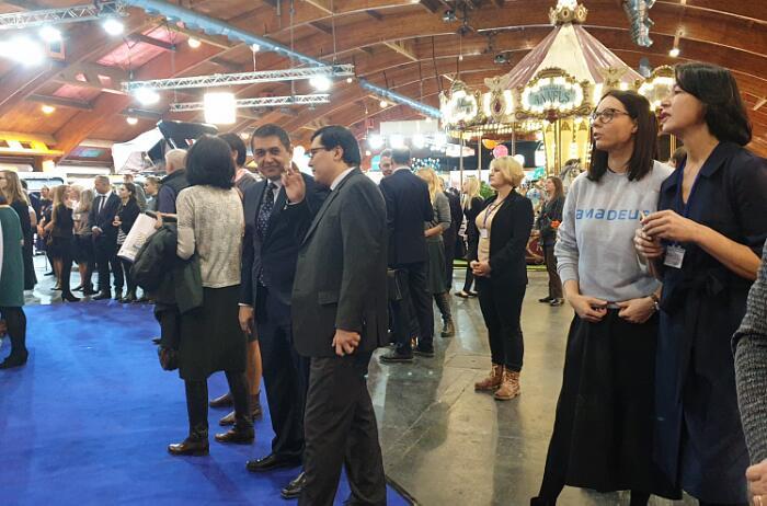 Выставка Balttour 2020 вРиге