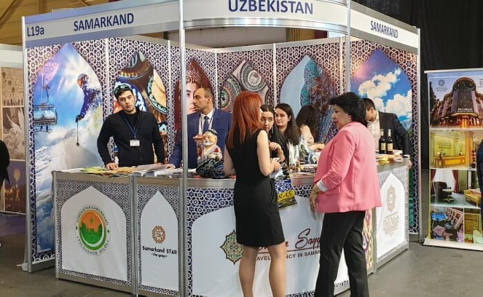 Выставка Balttour 2020 вРиге. Узбекситан