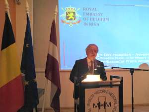 Франк Арнаутс Посол Бельгии вЛатвии