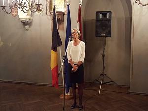 Прием Посольства Бельгии вРиге