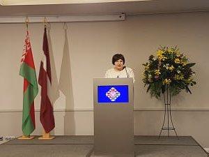 Посол Республики Беларусь вЛатвии Марина Долгополова