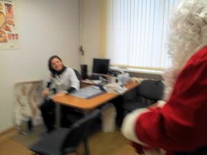 Дед Мороз Дипломатического экономического Клуба путешествие ARS