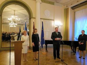 Прием Посольства Эстонии по случаю дня независимости