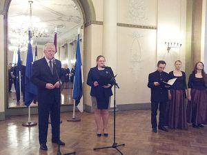 Посол Эстонии Мати Ваарманн