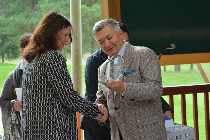 Ежегодный турнир по гольфу Посла Казахстана Б. Мухамеджанова