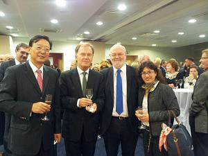 Посол КНР Yang Guoqiang, Посол Норвегии Ян Гревстад, Посол Ирландии Эйдан Кирван, Посол Израиля Хагит Бен Яаков