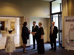 Прием Посольства Грузии вЛатвии