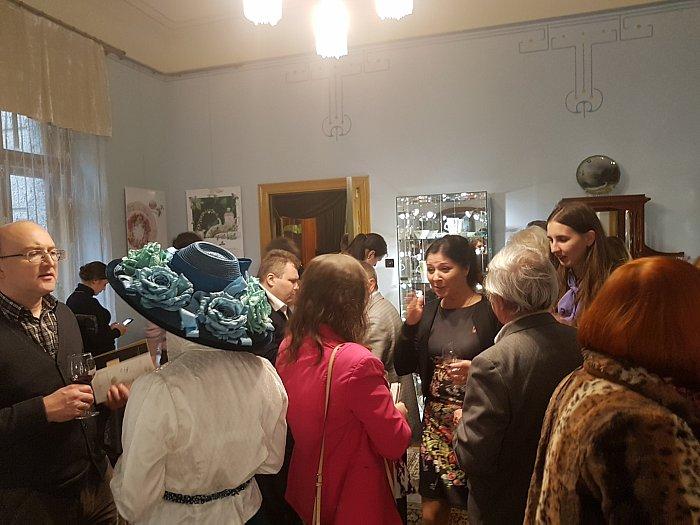 Открытие выставки Herend вРиге