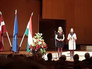 Прием Посольства Венгрии вЛатвии, октябрь 2015