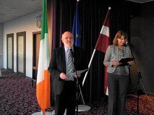 Прием Посольства Ирландии вЛатвии