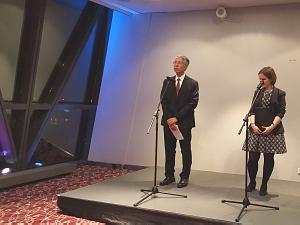 Прием Посла Японии вЛатвии Тошиюки Тага, октябрь 2015