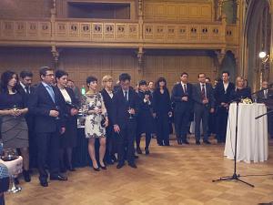 Прием Посольства Японии вЛатвии