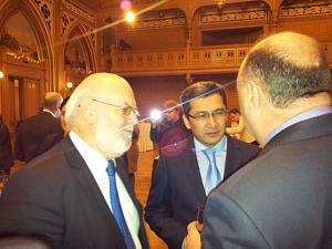Посол Ирландии Эйдан Кирван, Посол Узбекистана Афзал Артыков, Посол Молдовы Алексей Кракан