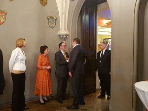 Прием по случаю национального праздника День короля Нидерландов  вРиге