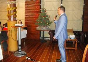 Президент Дипломатического Экономического клуба Давид Томашевски