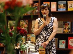 Писательница Ольга Александрова — встреча считателями вРиге
