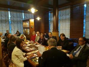 Встреча вДипломатическом клубе сПослом Нидерландов вЛатвии