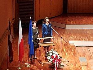 Прием Посольства Польши вЛатвии