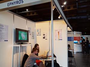 Выставка RIGA COMM 2015. Компания из Украины EPHYROS