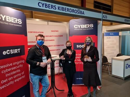 Riga Comm 2021 company Cybers