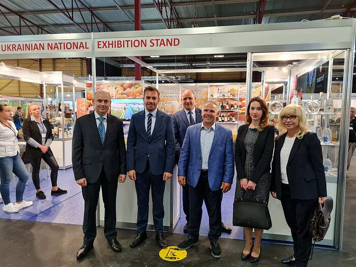 Украина на выставке Riga Food 2021