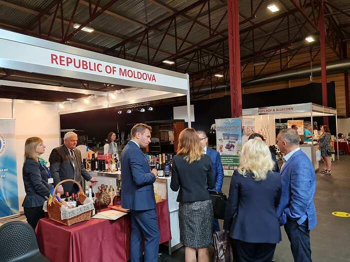 Молдова на выставке Riga Food 2021