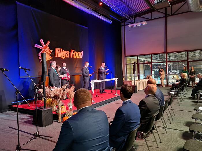 Открытие выставки Riga Food 2021