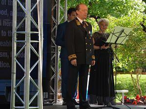 Прием Посольства России вЛатвии в2015 году