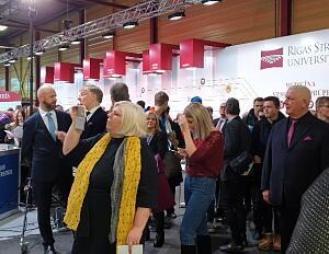 Открытие выставки Школа 2020
