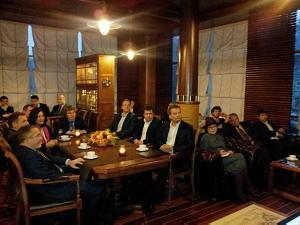Встреча вДипломатическом экономическом клубе вРиге 9октября 2014 вгостях Посол Банглалеш