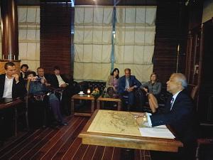 Посол Бангладеш доктор Сейфул Хог (Saiful Hoque) на встрече вДипломатическом экономическом клубе вРиге