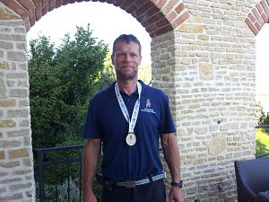 Победителем соревнований вгребле на каное стал член Клуба Дьёрдь Якоч