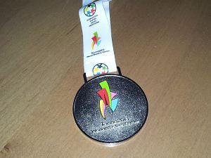 Медаль соревнований World Masters Games 2013 Torino