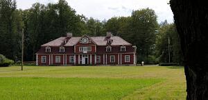 Красивые места Латвии. Усадьба Унгурмуйжа