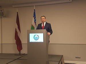 Прием  Посольства Узбекистана вЛатвии