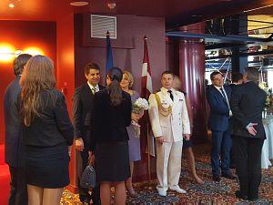 Прием Посольства Украины