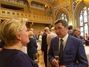 Прием Посольства Украины вЛатвии