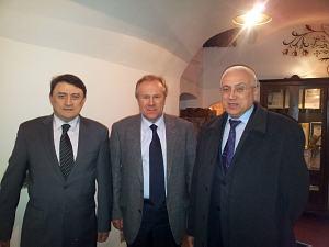 Олжас Тогузбаев, Валерий Жовтенко, Сергей Канаев